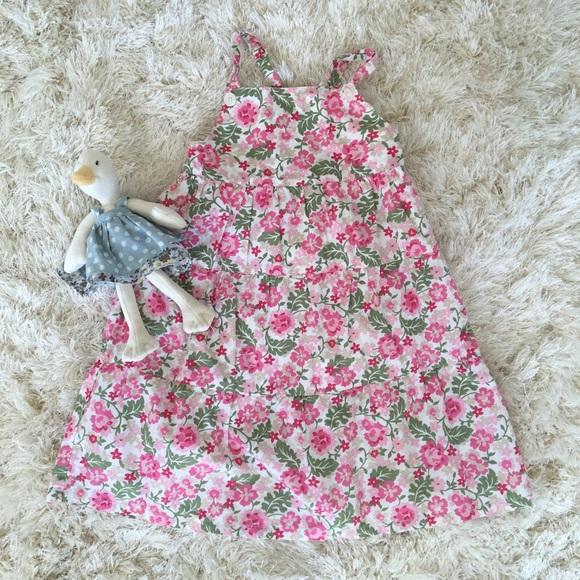 8760b4f13 Little girl Baby Gap Floral Dress age 3